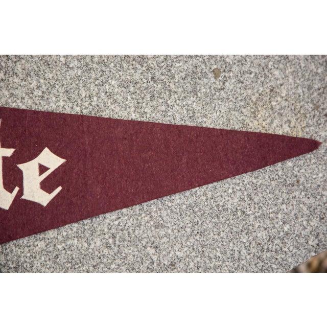 Vintage Colgate University Felt Flag - Image 3 of 3