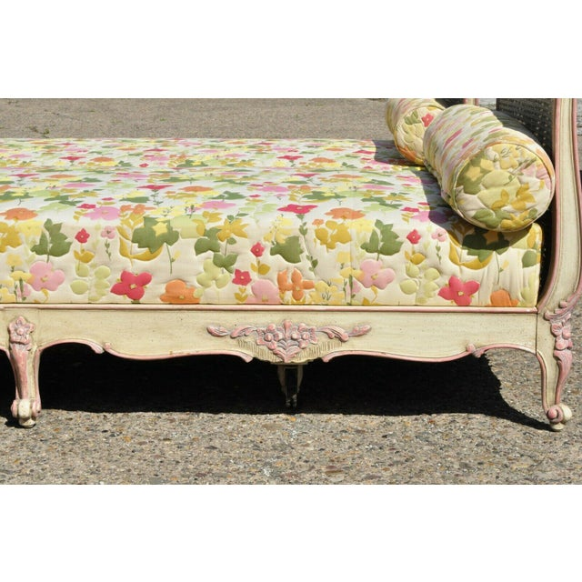 Early 20th Century French Louis XV Style Daybeds- a Pair For Sale - Image 11 of 12
