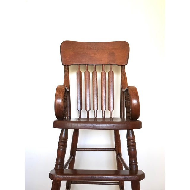 Antique Bentwood Child's High Chair - Image 3 of 7