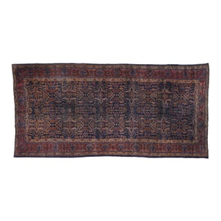Antique Bibikabad Persian Palace Size Rug - 11'06 X 24'00 For Sale