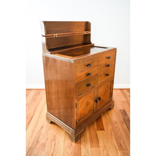 Antique Art Deco Medical Dental Cabinet - Image 6 of 10