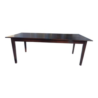 Country Style Extending Wooden Dining Table For Sale