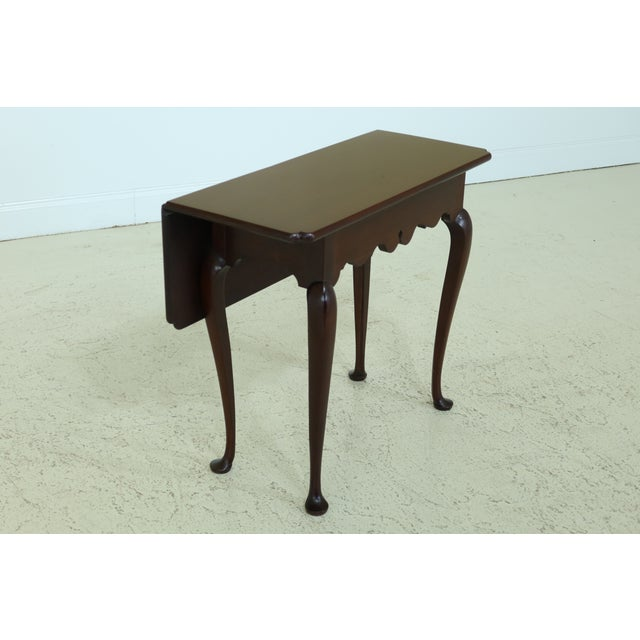 STICKLEY Colonial Williamsburg Drop Side Mahogany Table Age: Approx: 20 Years Old Details: CW-0203 Colonial Williamsburg...