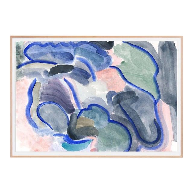 """Imaginary Landscape #1, Mark Frohman, Framed 56"""" X 40"""" For Sale"""