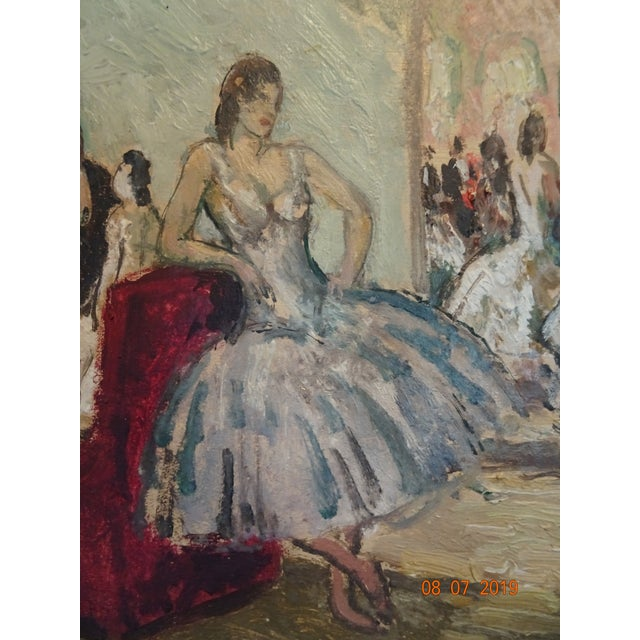 1930s Oil on Board by Marcel Cosson For Sale - Image 5 of 13