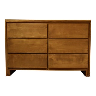 Solid Birch Dresser by Leslie Diamond for Conant Ball For Sale