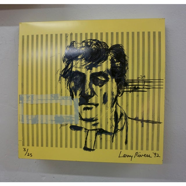 Abstract Larry Rivers Steel Painted Pieces in Original Plywood Box- Set of 4 For Sale - Image 3 of 10