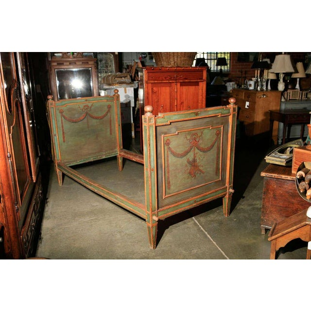 Paint Venetian Painted Day Bed For Sale - Image 7 of 8