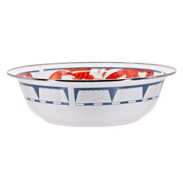 Modern Serving Basin Lobster - 4 qts. For Sale - Image 3 of 3