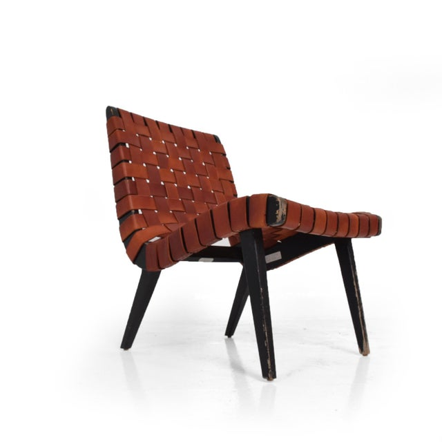 Pair of Jens Risom Lounge Chairs for Knoll For Sale - Image 12 of 12