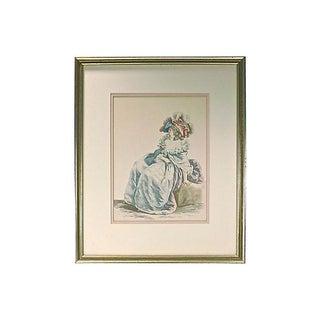 Vintage 18th Century Fashion Engraving