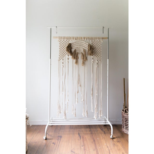 Natural Macrame Wall Hanging - Image 2 of 5