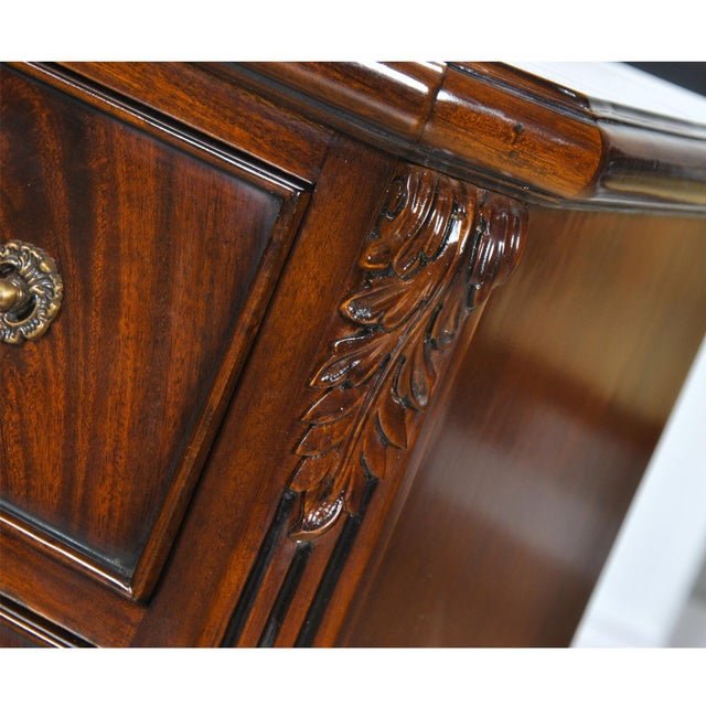 Niagara Furniture Chippendale Night Stand For Sale - Image 6 of 8