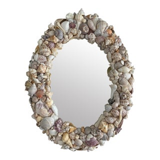 Shell Encrusted Mirror For Sale
