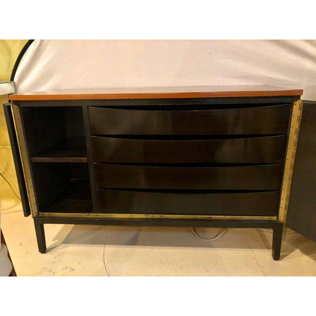 Brown Paul McCobb for Calvin Mid-Century Chests or Nightstands - A Pair For Sale - Image 8 of 12