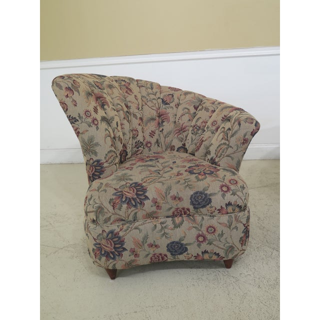 Approx: 15 Years Old Details: High Quality Construction Clean Well Cared For Upholstery Nice Fan Back Designs Offered at...
