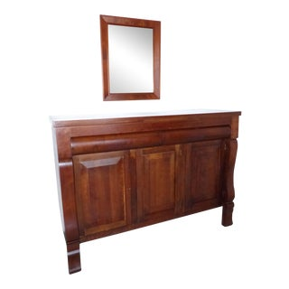 Handcrafted Cherry Wood Sideboard