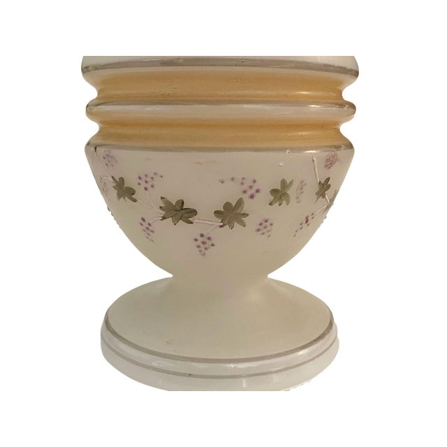 Mid 19th Century Victorian Opaline Vase For Sale - Image 5 of 7