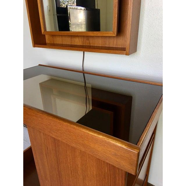 Pedersen & Hansen Danish Modern Mirror - Image 3 of 11