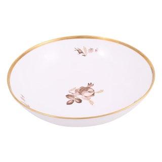Royal Copenhagen Rose Pattern Bowl For Sale