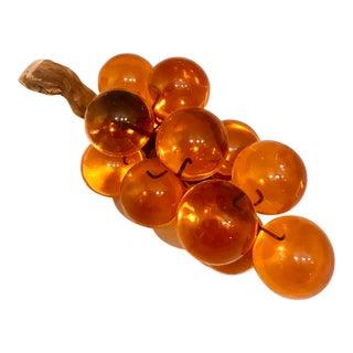 Orange Lucite Grape Cluster For Sale
