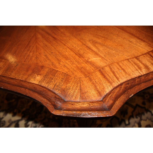 Inlay Oval Coffee Table - Image 5 of 6