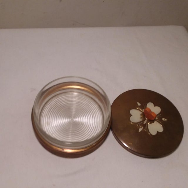 Art Deco Chase Vanity Powder Jar For Sale - Image 4 of 11