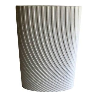 1970s Vintage Porcelain Vase Mod Agatha Waltz for Rosenthal Studio - Linie Modern For Sale