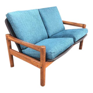 Mid Century Modern Love Seat For Sale
