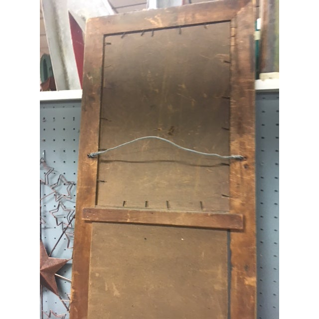 Antique Wall Trumeau Mirror For Sale - Image 12 of 13