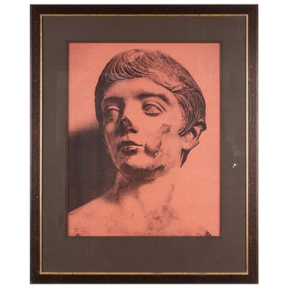 Original Xerography Print of Busts From Antiquity III For Sale