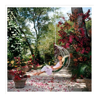 """Slim Aarons, """"Ava Marshall,"""" January 1, 1976 Getty Images Gallery Framed Art Print For Sale"""
