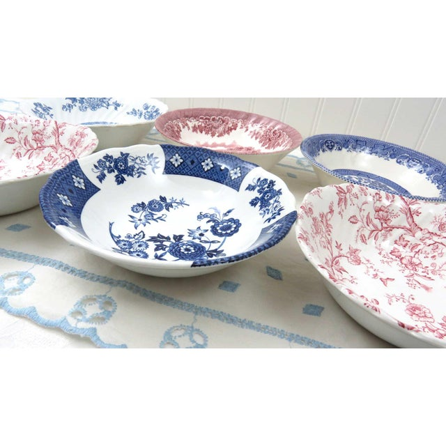 Mismatched Ironstone China Set, Service for 6 For Sale - Image 10 of 11