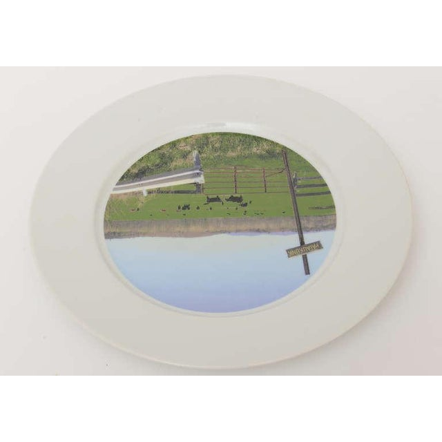 """Upstate Collection"" Porcelain Charger/Serving Plate - Image 8 of 8"