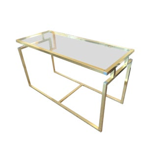 Vintage Milo Baughman Console For Sale