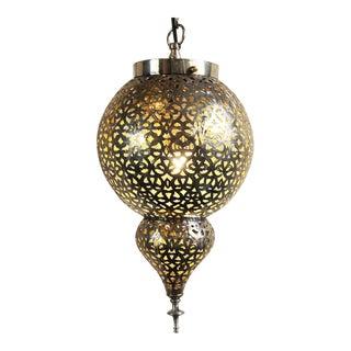 Nickel Serouj Lantern For Sale