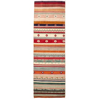 """Lori Hand Knotted Runner - 2' X 6'4"""" For Sale"""