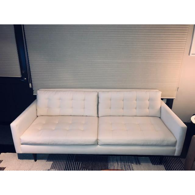 Admirable Crate And Barrel Petrie Apartment Sofa Pabps2019 Chair Design Images Pabps2019Com