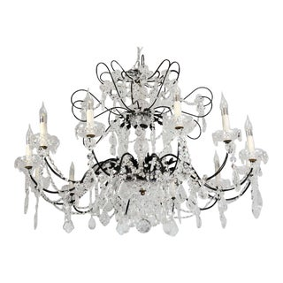 Crystal Chandelier For Sale