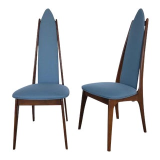 1950s Vintage Adrian Pearsall Style Chairs- A Pair For Sale