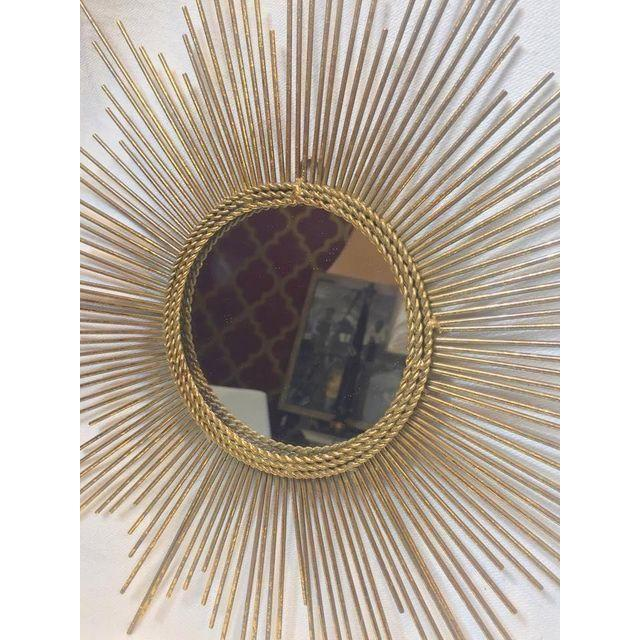 Art Deco Style Gold Starburst Mirror - Image 5 of 7
