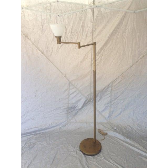 Nessen Studios Adjustable Swing Arm Floor Lamp - Image 2 of 7