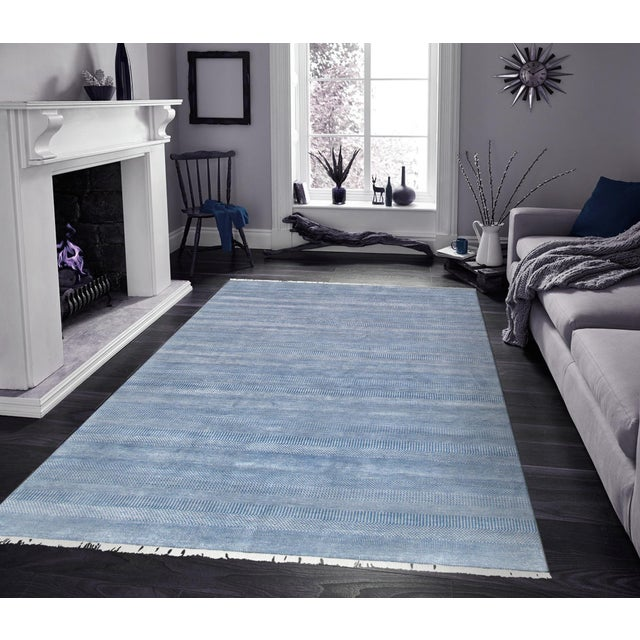 """Pasargad Transitional Silk & Wool Area Rug - 9' 1"""" X 12' 0"""" - Image 3 of 3"""