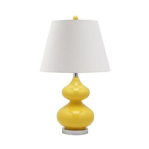 Just Reduced! Hello Yellow! These beautiful gourd lamps are brand new and pack a punch. These lamps would look great in...
