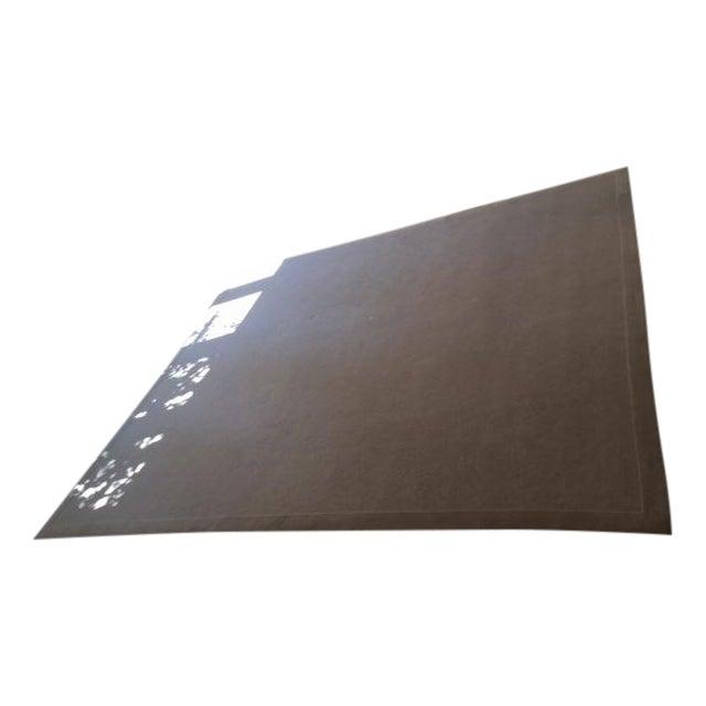 Bone White Designer Wool Rug- 11' x 14' - Image 1 of 7