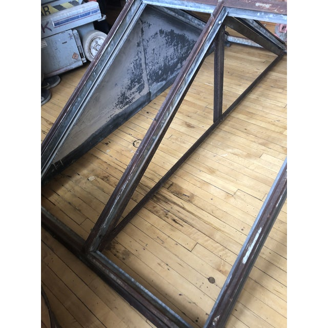 Antique Metal Skylight For Sale - Image 4 of 7