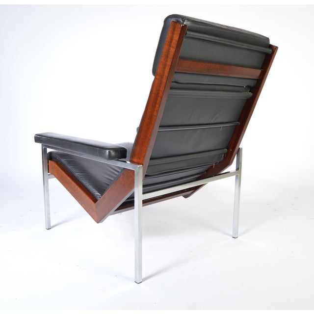 Mid-Century Modern Rob Parry for Gelderland Lotus Lounge Chair, Circa 1960 For Sale - Image 3 of 6