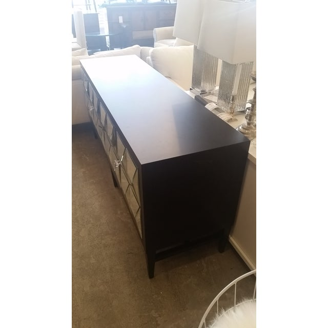Contemporary Mirrored Spike Door Sideboard For Sale - Image 3 of 9