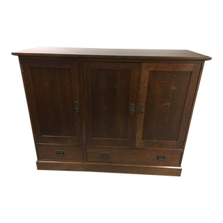 Stickley Mission Style Entertainment Tv Cabinet
