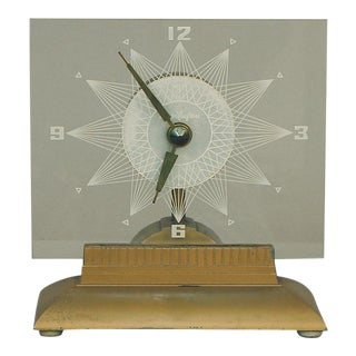 "Mastercrafter ""Tv"" Clock, the Starlight, With Inbuilt Light For Sale"